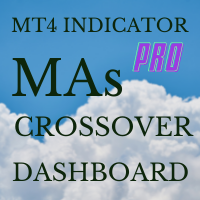 MAs crossover dashboard MT4 Pro