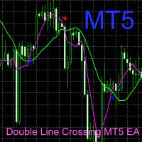 Double Line Crossing MT5 EA