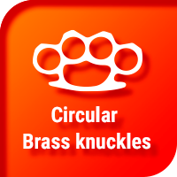 Circular Brass knuckles