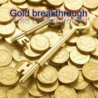 Gold breakthrough