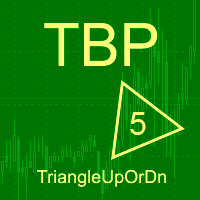 Triangle up or down MT5