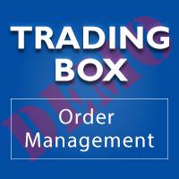 Trading box Order Management MT5 DEMO