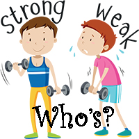 Who Strong Who Weak