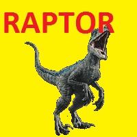 Inteligente TRex Raptor Rapido