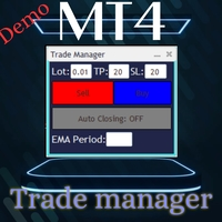 Trade Manager Panel Demo