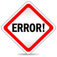 Error EA