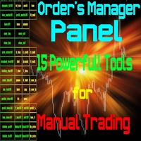 Forex Order Manager Panel