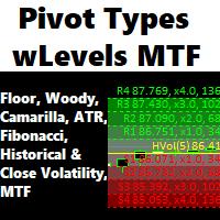 Pivot Types with Levels MTF MT5