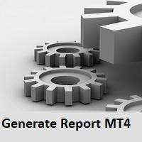 Generate Report MT4