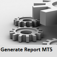 Generate Report MT5
