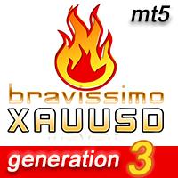 EA Bravissimo XAUUSD h1 MT5