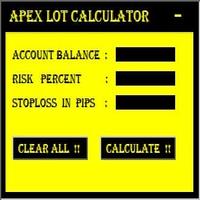 Apex Lot Calculator