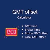 GMT offset calculator mt5