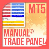 Manual Trade Panel EA MT5
