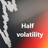 Half of the volatility