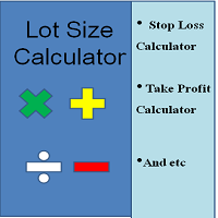 Lot Size Calculator and TPSL