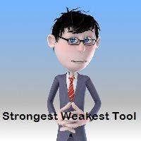 Strongest Weakest Tool