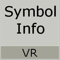 VR Symbol Info WL
