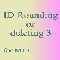 ID Rounding or deleting 3 for MT4