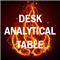 Desk analytical table