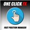 One Click FX Panel