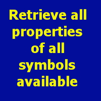 Retrieve all properties of all symbols available