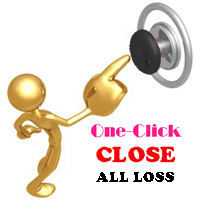 ONE CLICK CLOSE ALL LOSS ORDERS