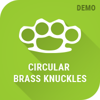 Circular Brass knuckles demo