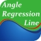 Angle Regression Line with Divergence