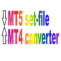 MT5 to MT4 set file converter
