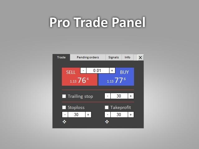 Pro Trade Panel