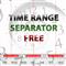 Time Range Separator