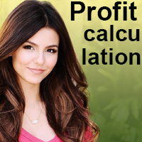 Profit calculation