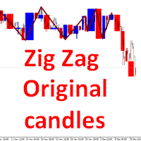 Zig Zag Original candles