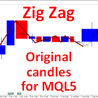 Zig Zag Original candles for MQL5