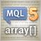 MQL5 Programming Basics: Arrays