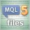 Основы программирования на MQL5: Файлы