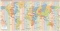 Список часовых поясов по странам | Wikiwand