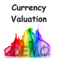 Technischer Indikator Real Time Currency Valuation Demo