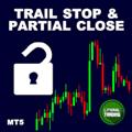 Utilitário de negociação LT Trail Stop with Partial Close