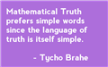 Quotable maths: Brahe - Flying Colours Maths