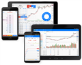 Mobile trading on Forex, stock exchanges, and CFDs