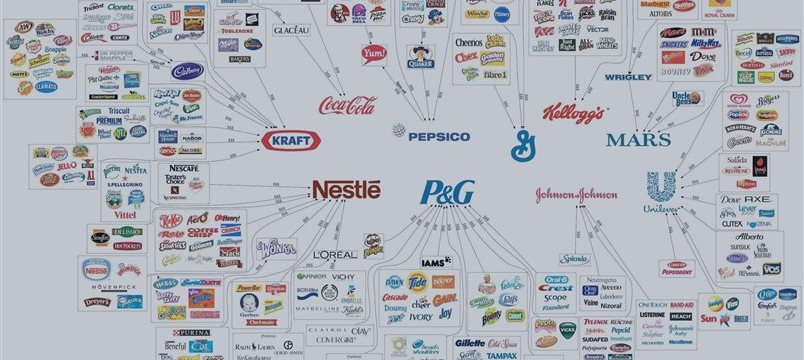 10 empresas que controlam o mercado mundial de alimentos