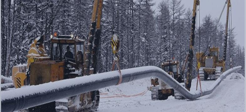 Gasoduto entre Chinesa e Rússia