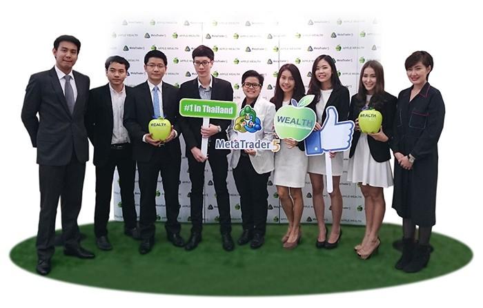 Lançado o Primeiro MetaTrader 5 na Tailândia