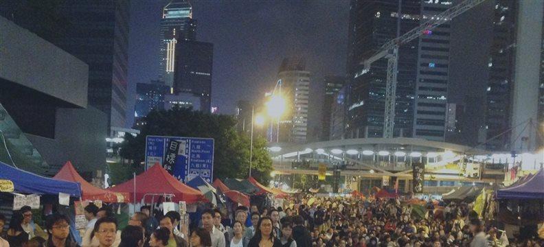 """""""占中""""对香港经济的损害难以估量"""