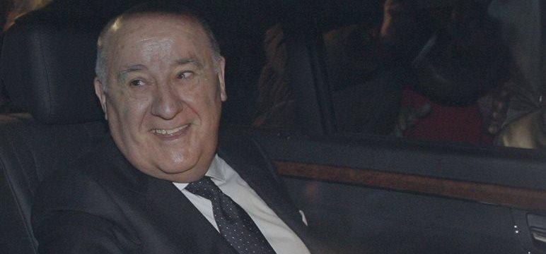 Amancio Ortega de Inditex cobra este lunes 447 millones de euros