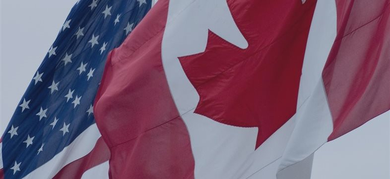 Balanza comercial de EEUU y de Canadá