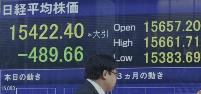 La Bolsa de Tokio avanza gracias a la continuada fortaleza del dólar frente al yen