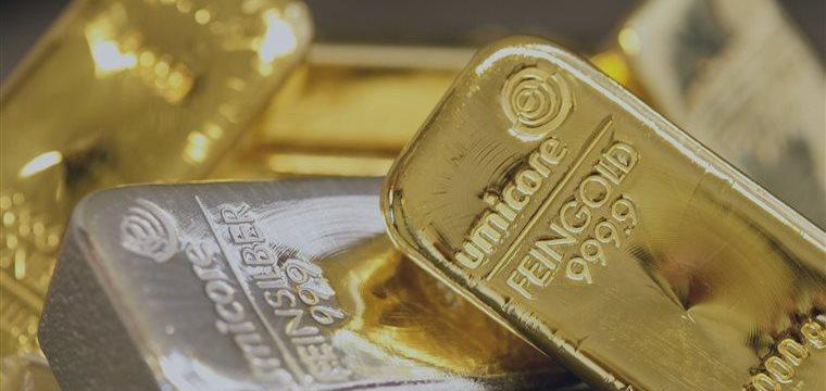 Los futuros del oro bajaron en Europa y Asia